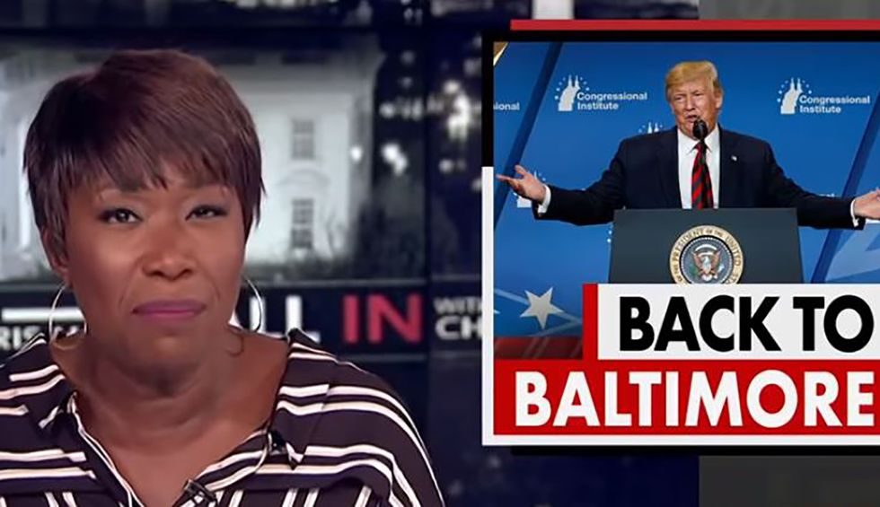 Here's the clip of Joy Reid mocking Trump's 'smoking hot beauty tips' that likely pushed him over the edge