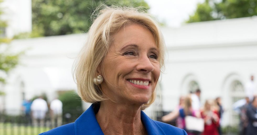 Betsy Devos' Education Department under fire after humiliating oversight failure