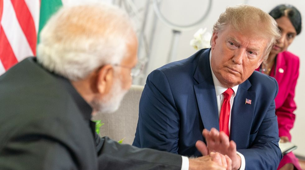 How India's Prime Minister Modi is playing Trump's ego like a fiddle