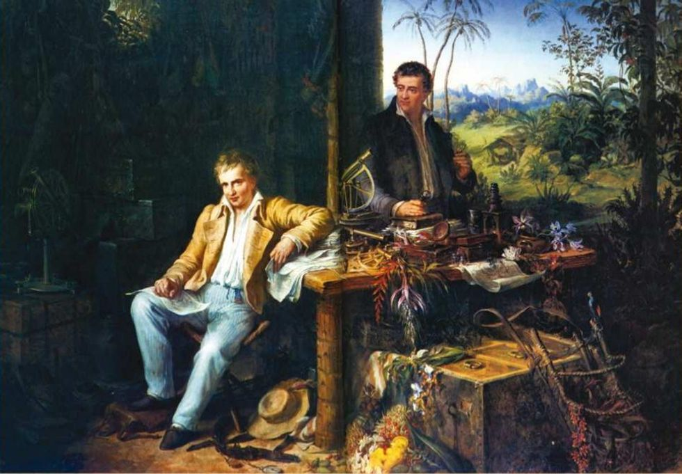 Alexander von Humboldt was the first person to understand climate change — more than 200 years ago