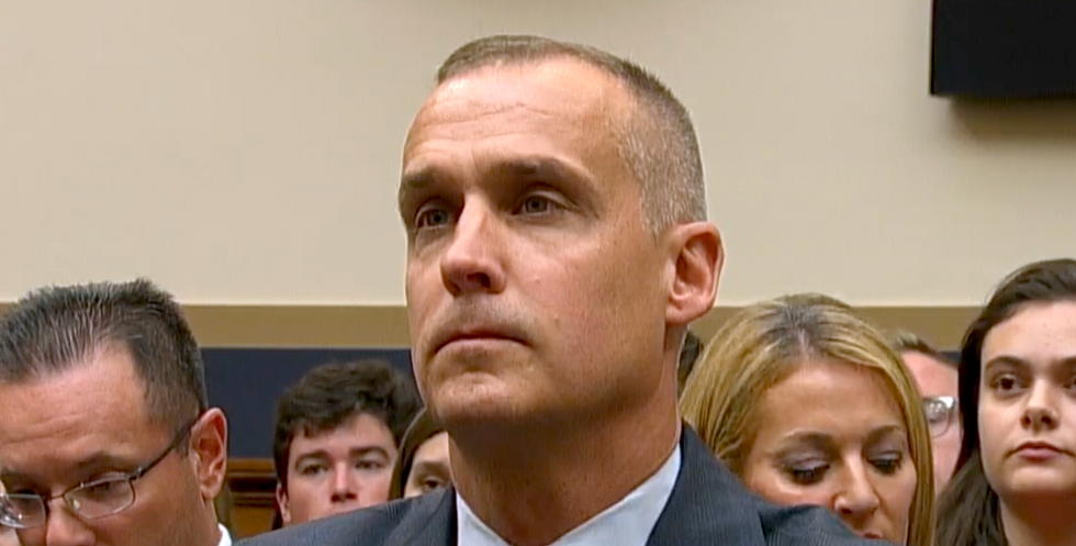 Corey Lewandowski turned a hearing into a chaotic mess — but he also made a key admission about Trump