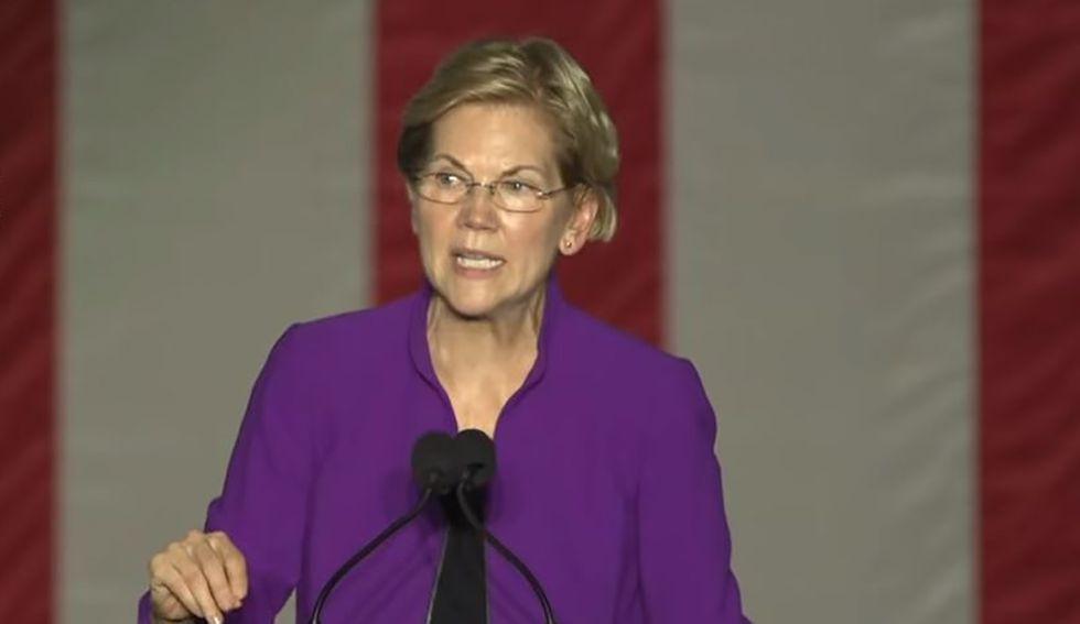 Iowa survey has Warren leading Biden for first time in Democratic primary