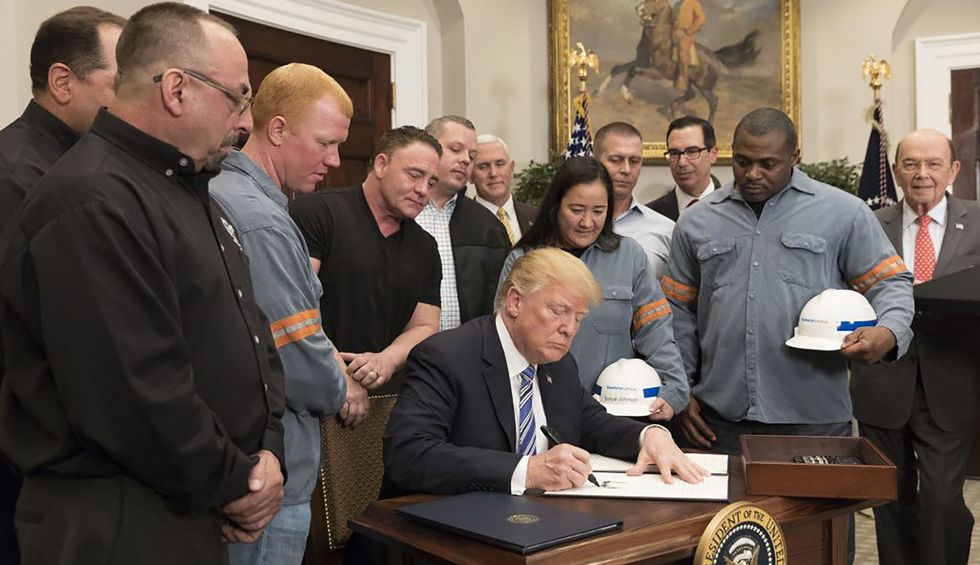Trump promised he was 'rebuilding and expanding' steel industry. Turns out, it's 'got some real problems'