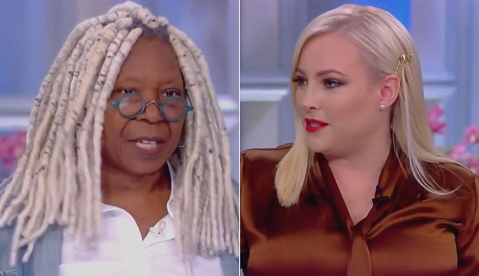 'Don't be so dismissive': The View's Whoopi Goldberg shuts down Meghan McCain's white-hot meltdown over Trump impeachment