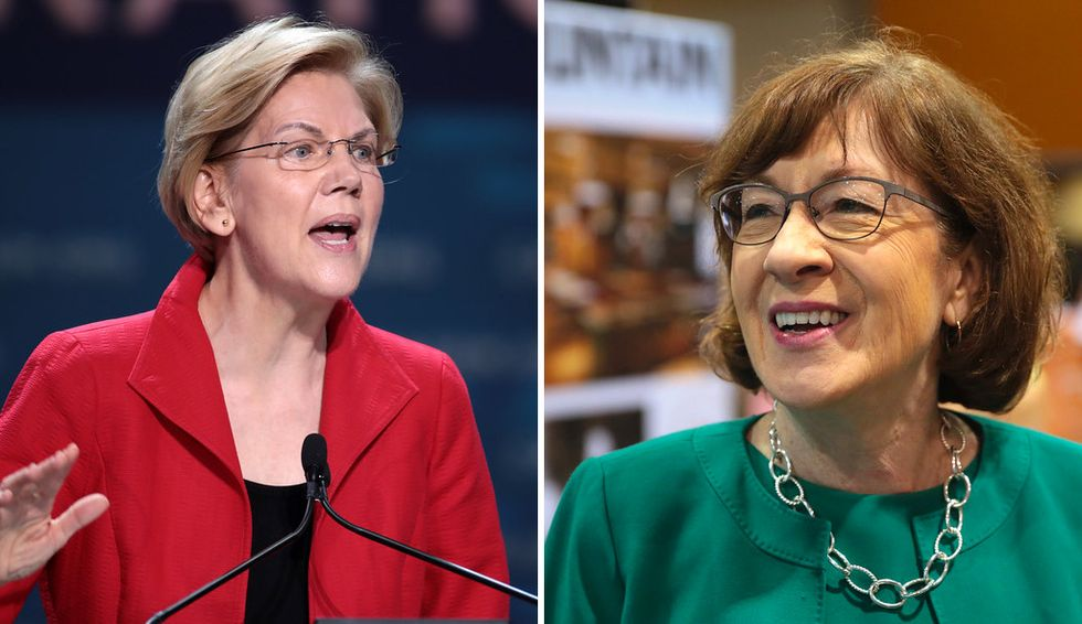 Elizabeth Warren's campaign manager targets Susan Collins in aggressive push for Democrats to retake the Senate