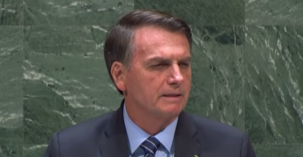 Brazilians blast Bolsonaro's UN speech denying Amazon devastation as a total 'scam'