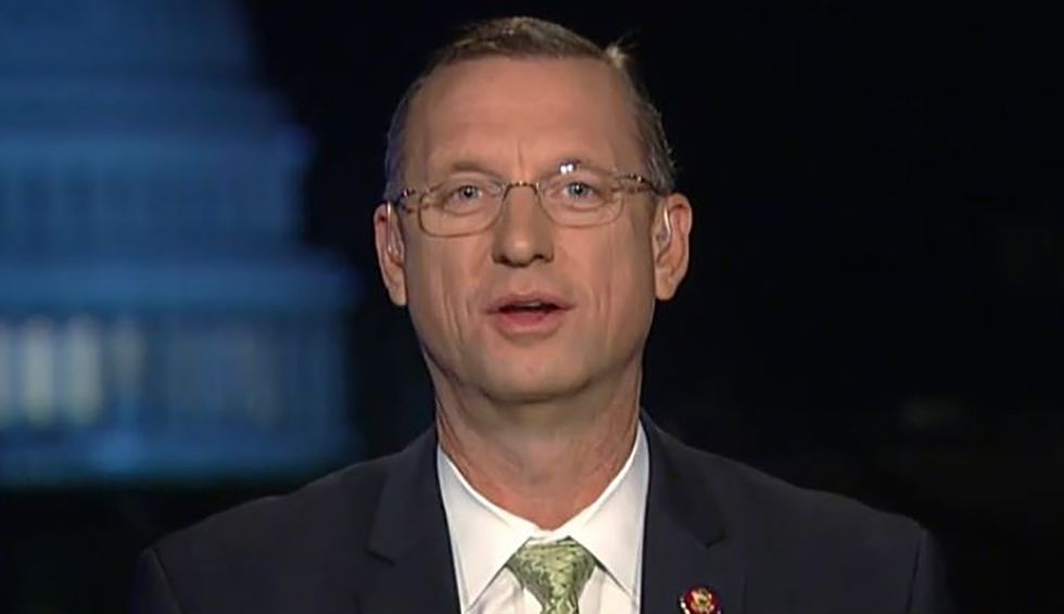 GOP's Doug Collins hints on Fox & Friends that Republicans will try to hamstring Trump impeachment inquiry