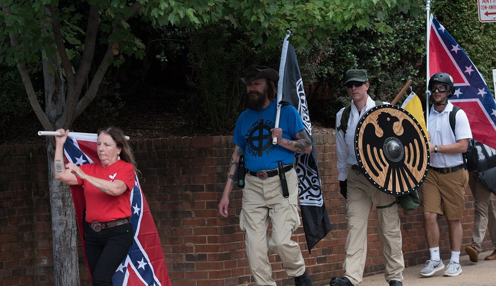 Nazi flag raised outside of Michigan elementary school — local police call it 'distasteful'