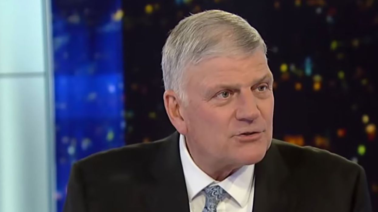 Franklin Graham slammed for 'inciting violence' after comparing Republicans who voted to impeach to 'Judas'