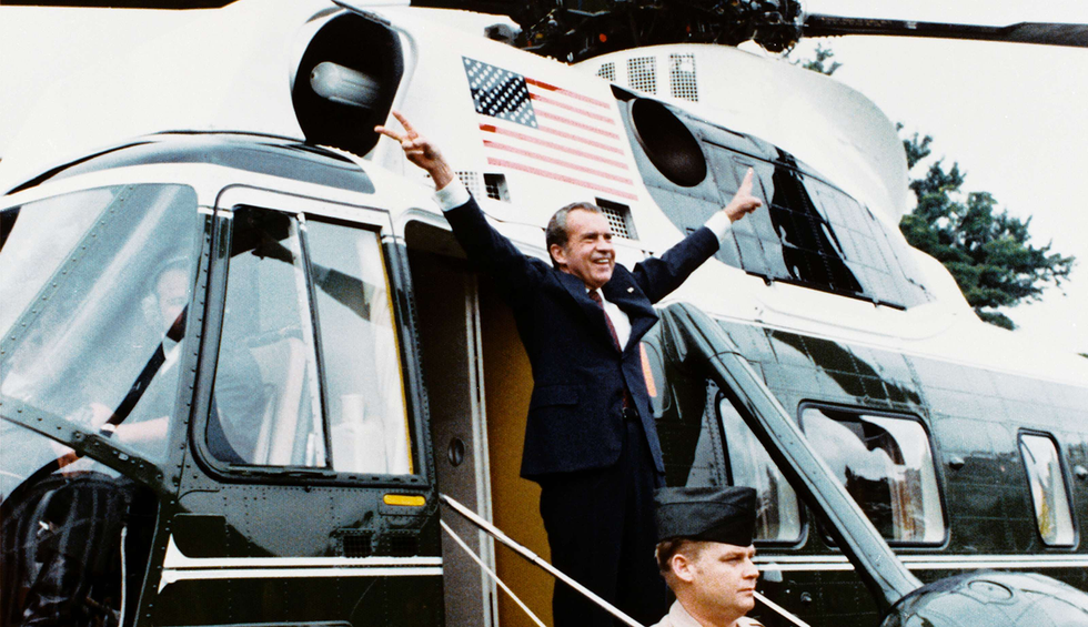 How Trump's bad Nixon imitation may cost him the presidency
