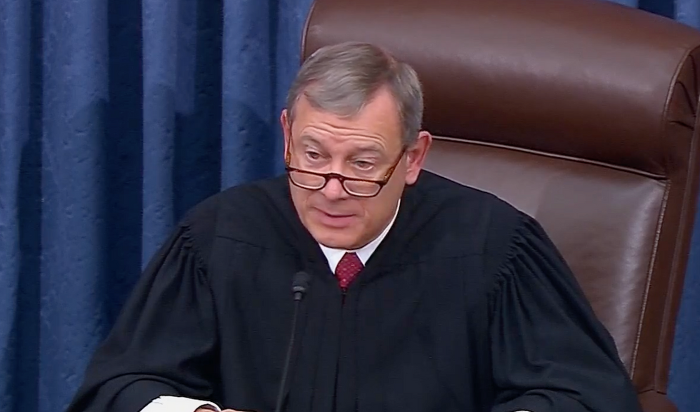Democrat to offer motion requiring Chief Justice Roberts to order witnesses and documents