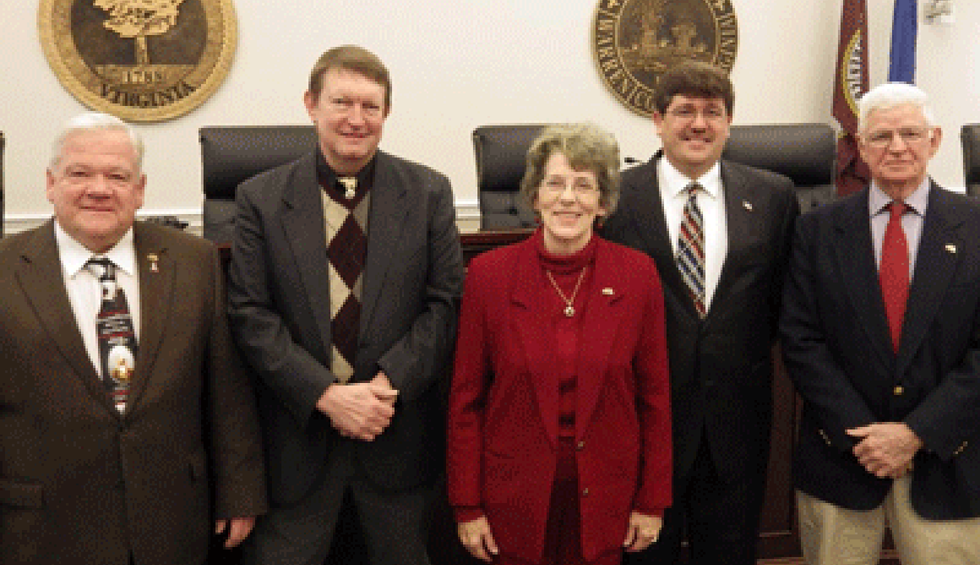 Entire Virginia county board of supervisors indicted as part of corruption probe