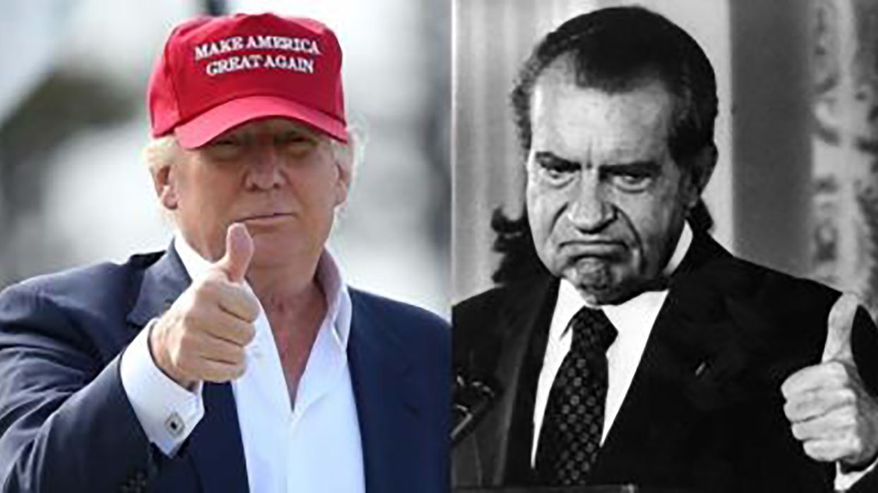 America's long road to fascism: GOP path goes from Nixon to Trump and his true believers. Neoliberalism didn't stop it