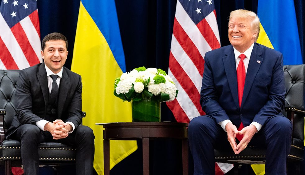 House Intel member reveals witnesses say the same thing: Trump's Ukraine call is 'just the tip of the iceberg'