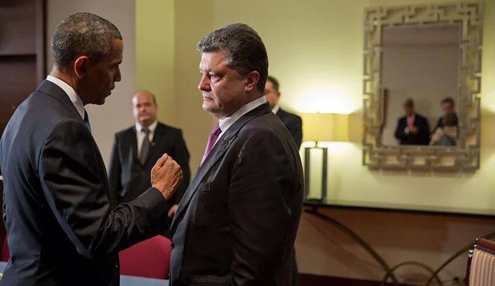 Former Ukrainian president destroys Trump's conspiracy claims against Biden