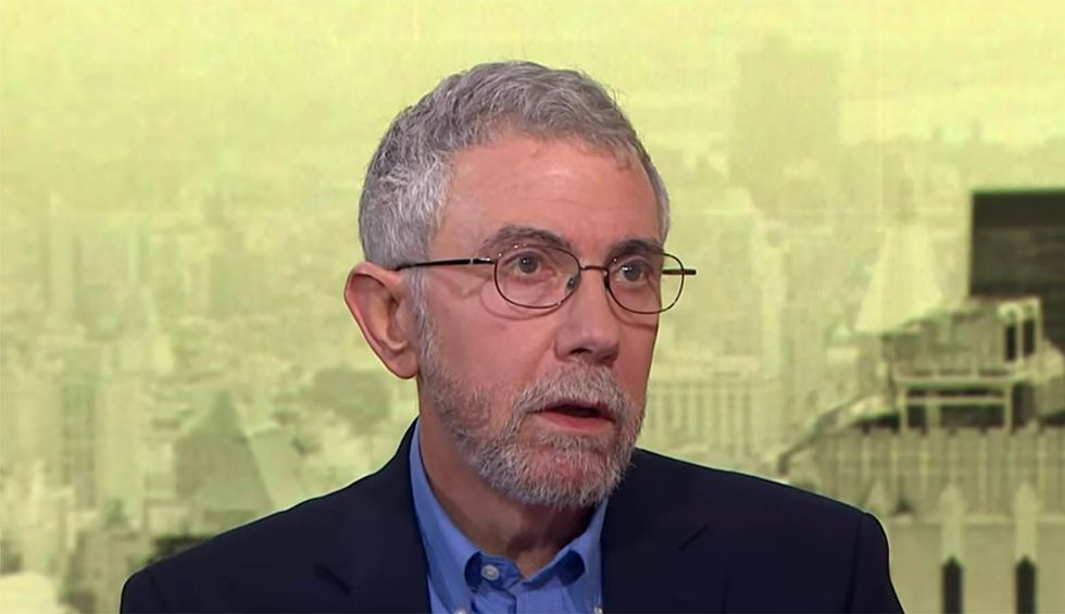 Nobel Laureate Paul Krugman nails why Republicans won't turn on Trump — and it's not over fear of the president's wrath