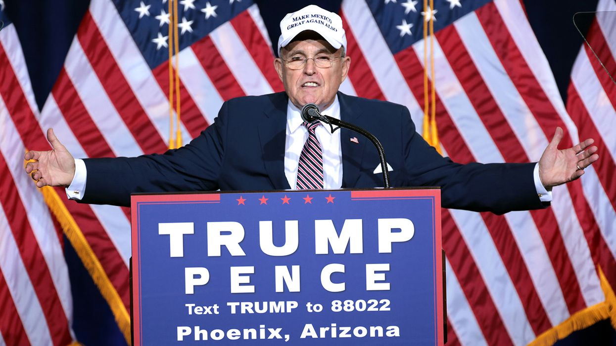 Arizona Republicans chase Rudy Giuliani's election fever dream — winning control over millions of ballots