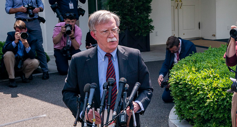 Trump administration sues to stop John Bolton from publishing his tell-all book