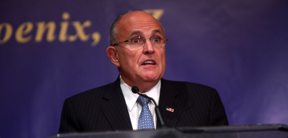 Trump lawyer Rudy Giuliani was just forced to get his own lawyer