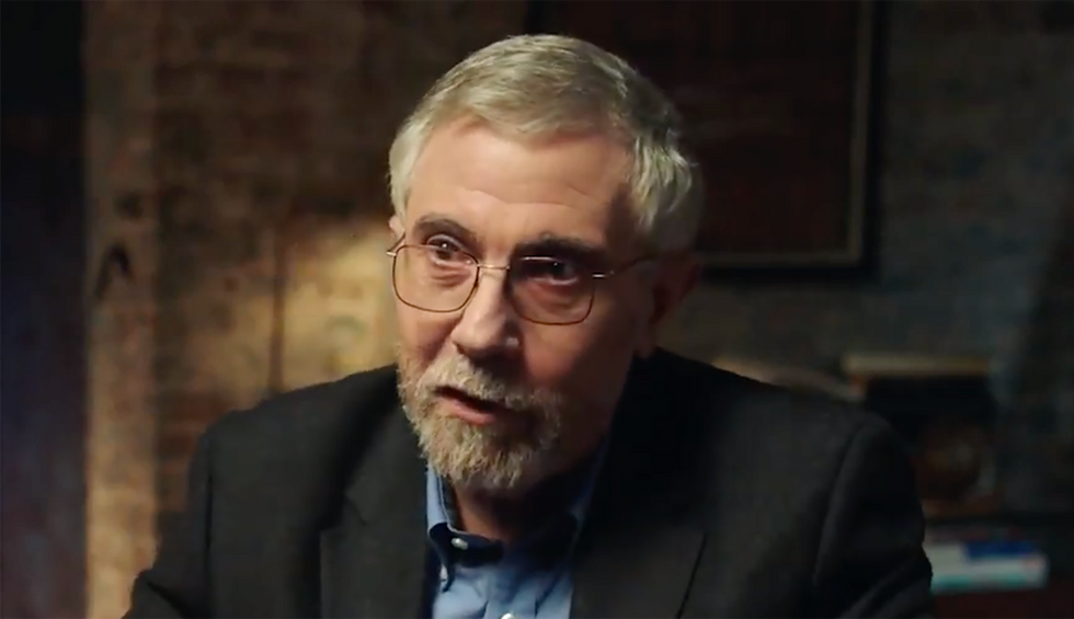 Nobel Laureate Paul Krugman explains why Elizabeth Warren terrifies Wall Street billionaires: They 'expect to be treated like kings'