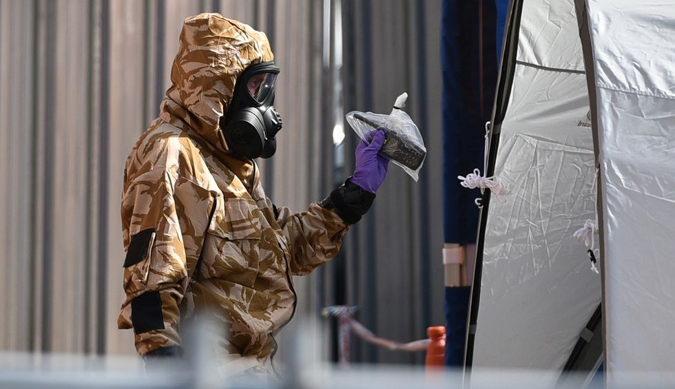 Russian Embassy in London says Trump exonerated them of Skripal poisoning