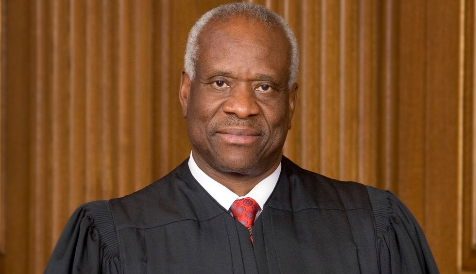 Justice Clarence Thomas absent from first day of new Supreme Court term