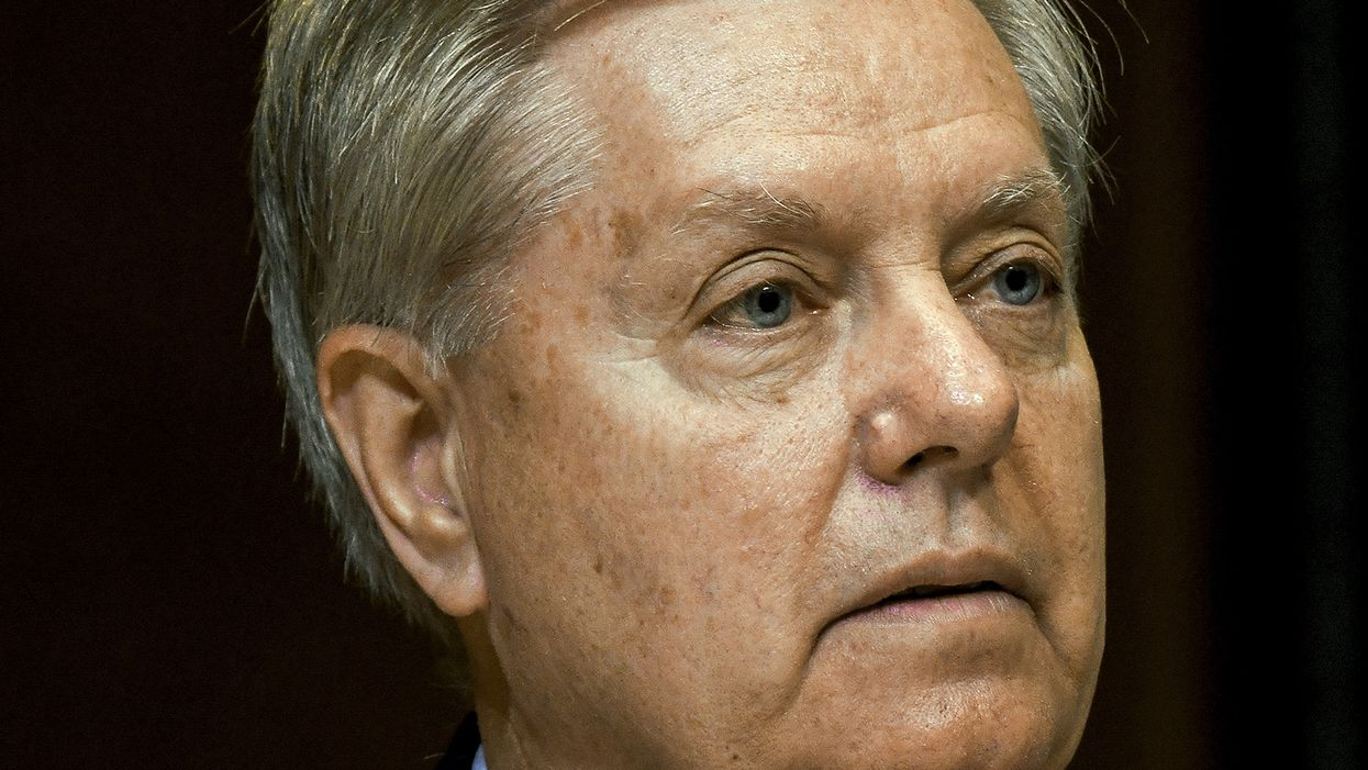 'You don't really believe that do you?' Watch Axios reporter's bizarre interview with Lindsey Graham