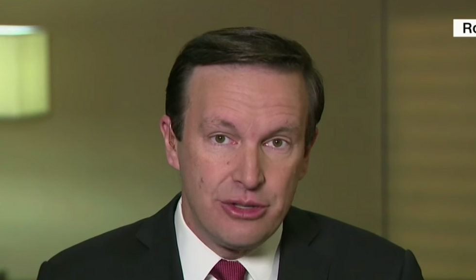 Democratic senator lays out the compelling evidence for Trump's 'quid pro quo' with Ukraine