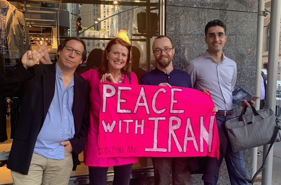 'You are lying': Why I confronted Trump's destructive architect of sanctions against Iran