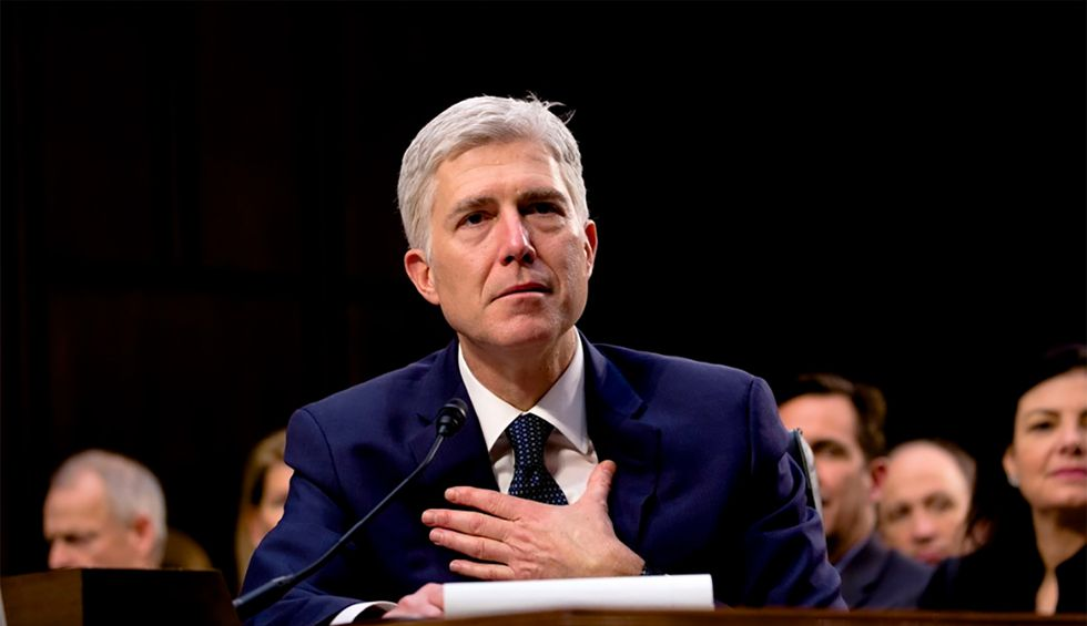 Conservative Justice Gorsuch just gave a remark during Supreme Court arguments that could lend hope to LGBTQ activists