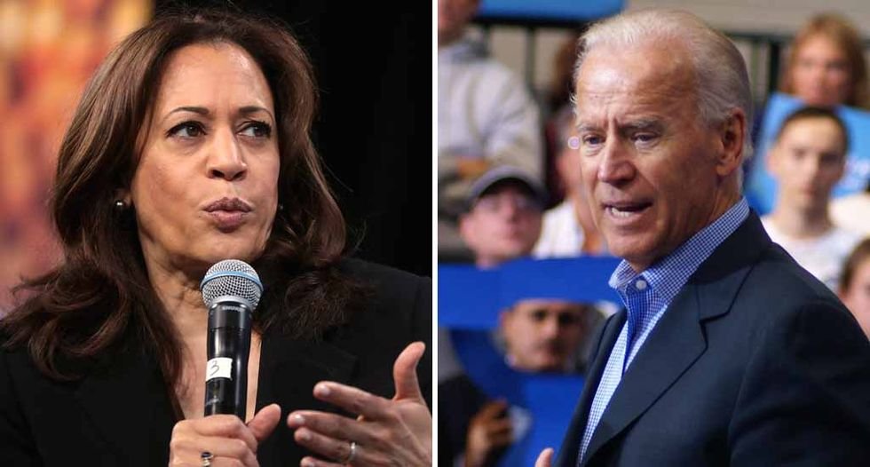 Kamala Harris just delivered the perfect response when asked about people viewing her as Joe Biden's 'dream' VP pick