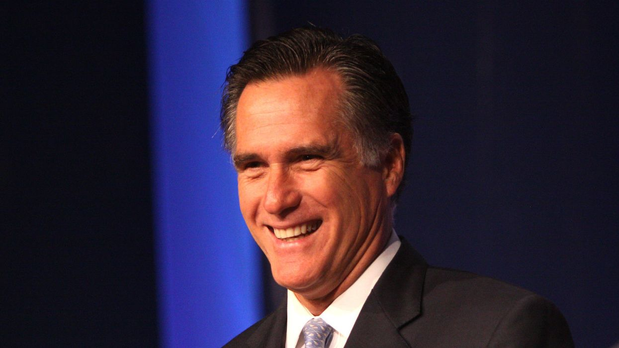 Watch: Mitt Romney heckled as Utah Republican convention turns into Trump party