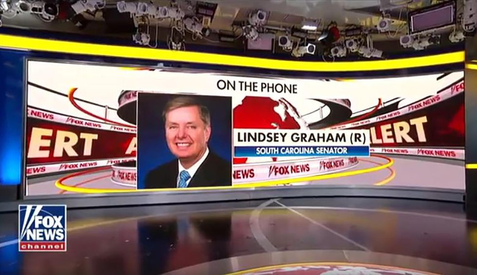 Lindsey Graham calls in to 'Fox & Friends' to rebuke Trump's Syria withdrawal