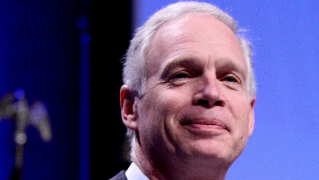 Sen. Ron Johnson hammered for 'pants on fire' lie that January 6 Capitol coup wasn't an 'armed insurrection'