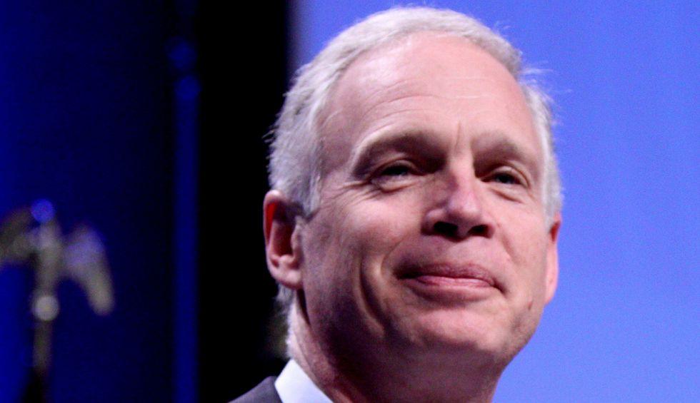 GOP Sen. Johnson prepping subpoenas on Trump's Burisma hoax as he accuses Democrats of duplicity