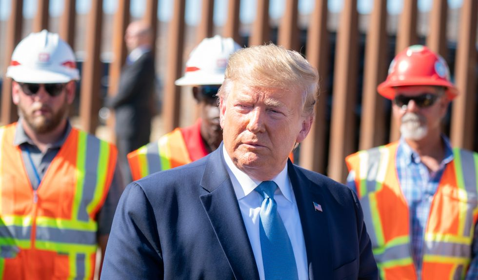 Steel for border wall in Arizona being made by company with ties to pro-Trump super PAC: report