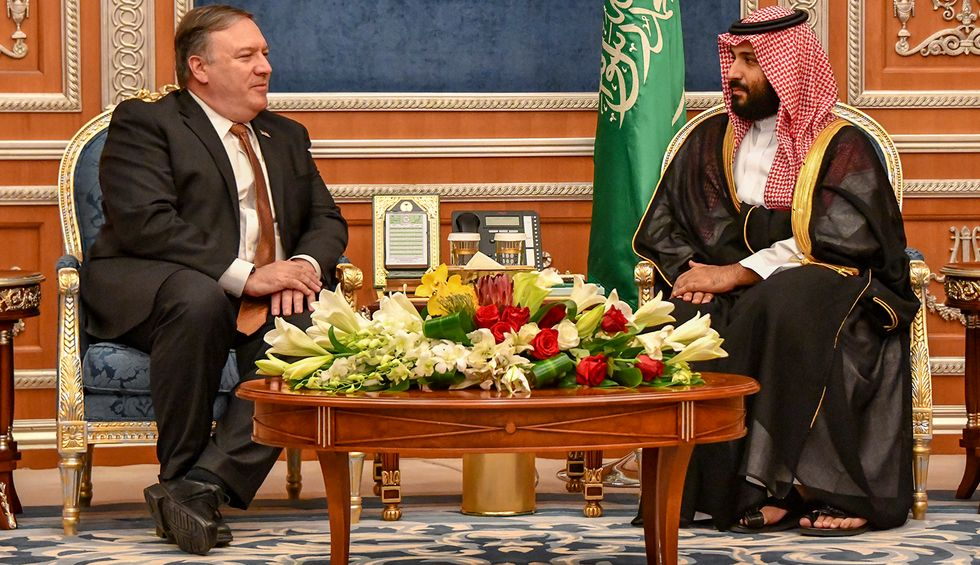 Fired State Department IG was also investigating Trump's Saudi arms sales: report