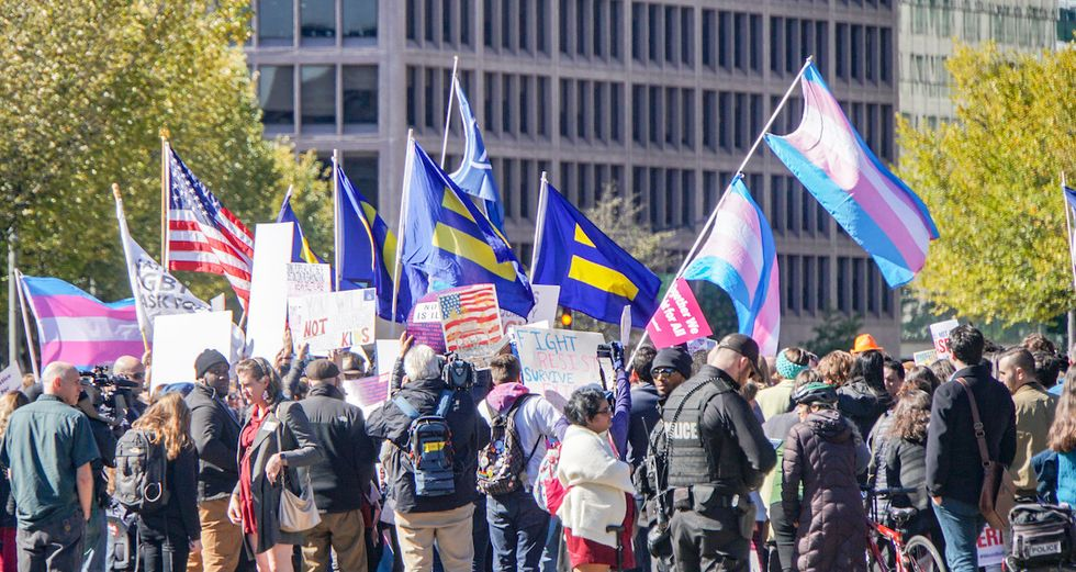 Judge blocks Trump's anti-trans health rule just hours before it was to go into effect