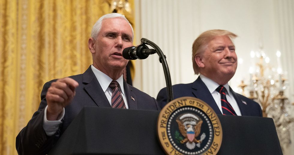 Mike Pence dutifully follows Trump down the obstructive path of defying Congress