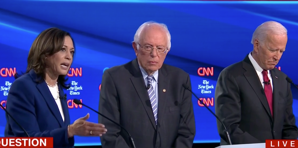 Here are 3 winners and 4 losers from the CNN Democratic presidential primary debate