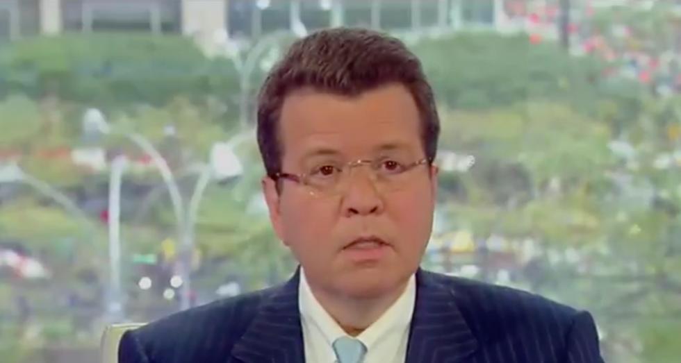 'I'm going to miss my buddy': Fox News host fights back emotions and says he's 'shell-shocked' at Shep Smith's leaving