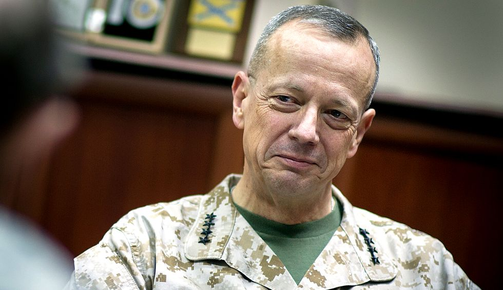 Former ISAF commander retired Marine Gen. John Allen: 'There is blood on Trump's hands for abandoning our Kurdish allies'