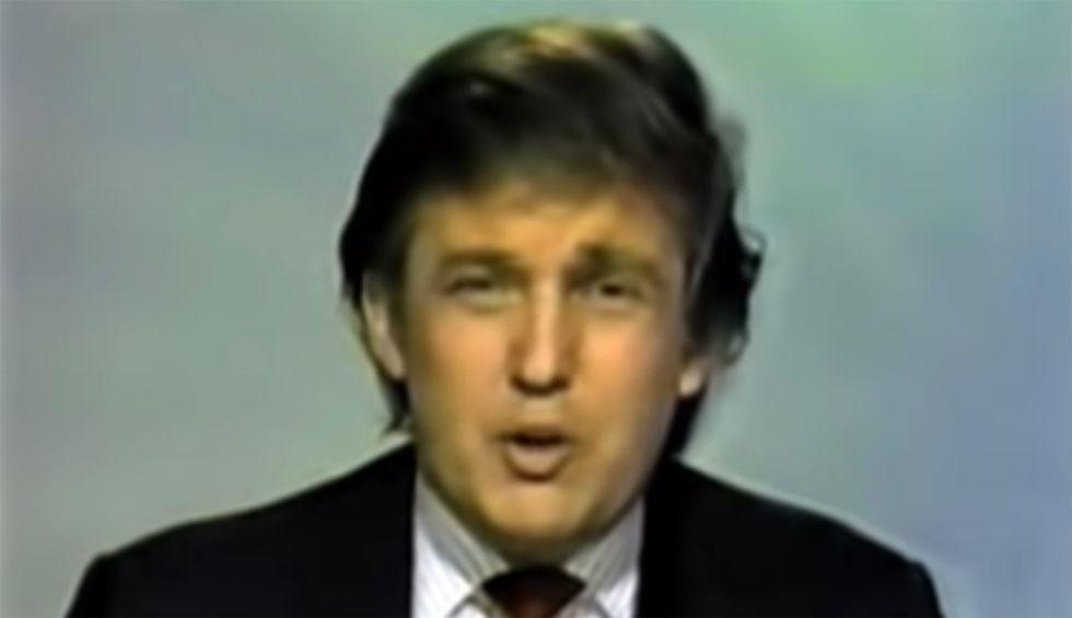 Flashback: A 2004 video shows Trump struggling to vote in person and threatening to 'fill out the absentee ballot'