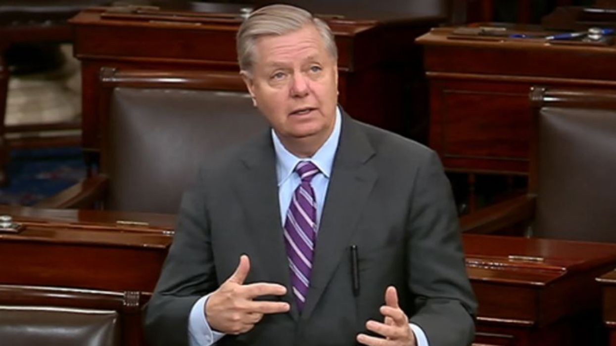 Experts slam 'historically loathsome' Lindsey Graham for urging Schumer to 'dismiss' impeachment