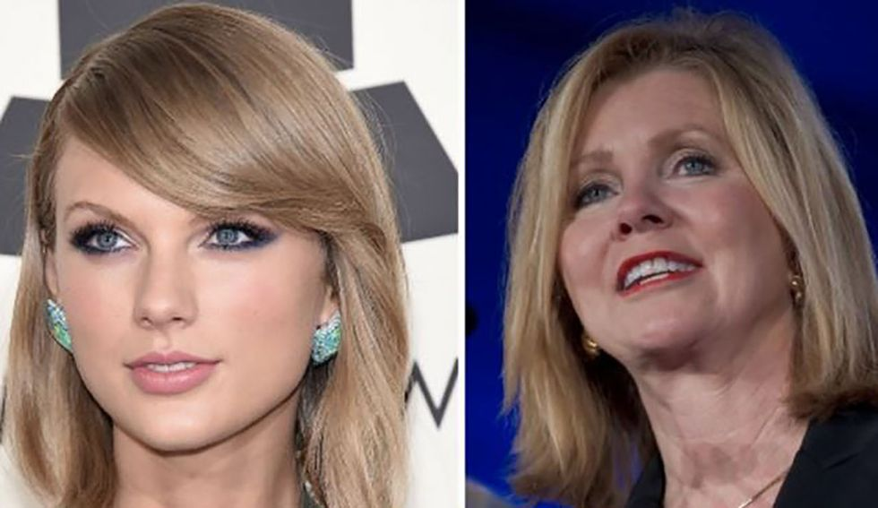 Taylor Swift fires off a surprisingly harsh attack on 'Trump in a wig' Marsha Blackburn in new documentary