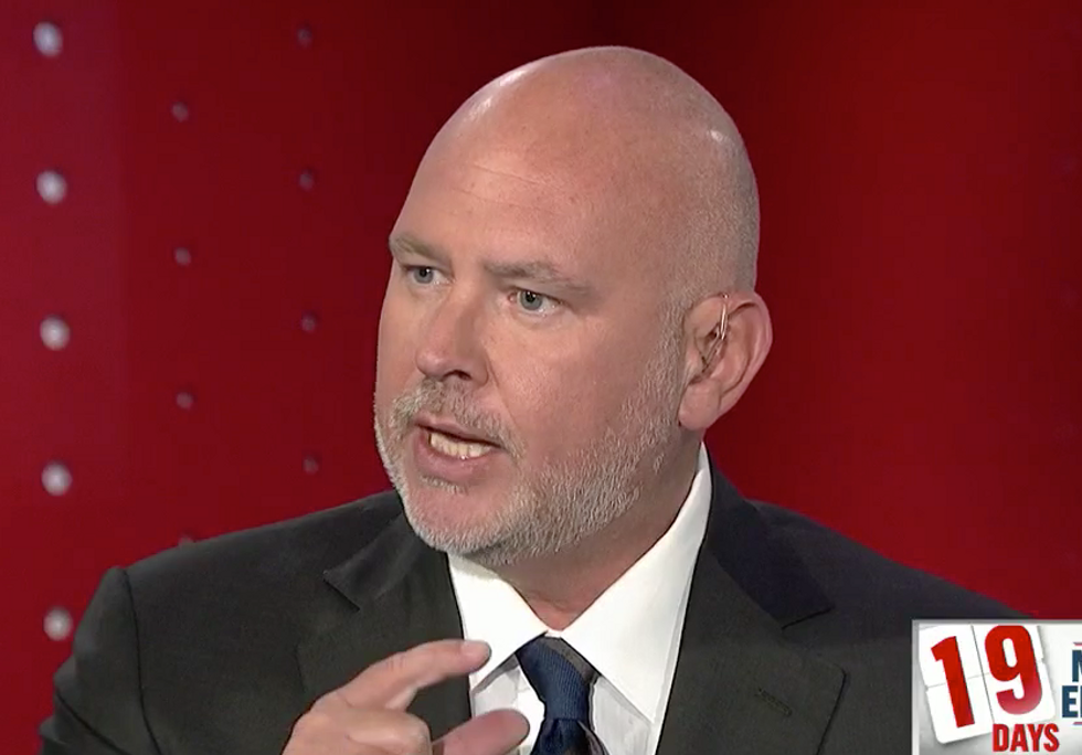 Ex-Republican Steve Schmidt Unleashes on 'This Vile Age of Trumpism' in Epic Rant Linking the President's Policies to Slavery