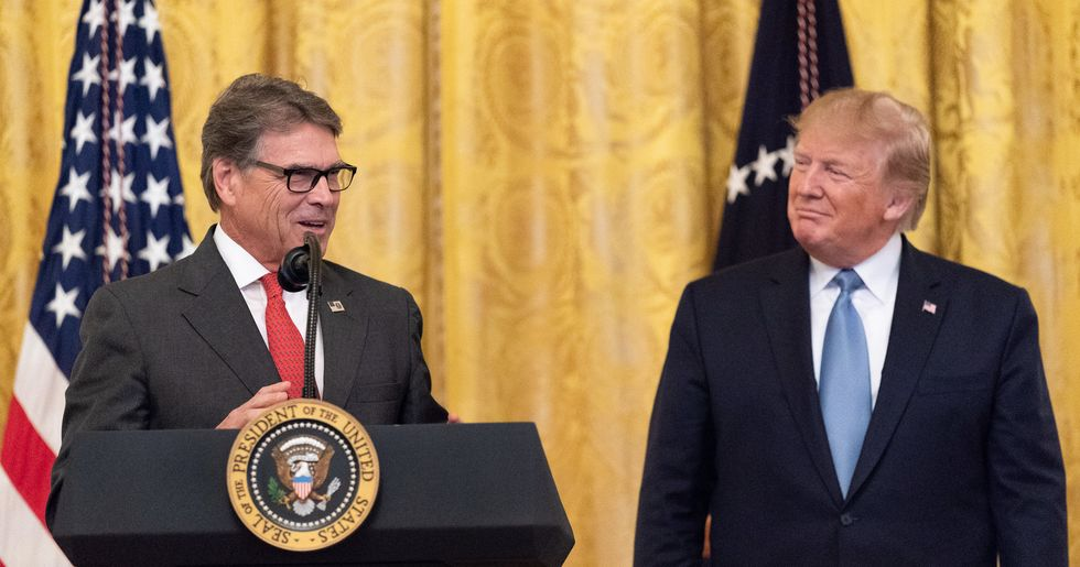 Rick Perry gives Trump his resignation as the Ukraine scandal envelops him: reports