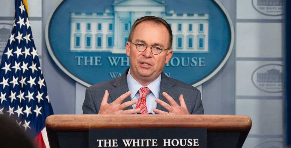 Trump barked at 'weak' Acting Chief of Staff Mick Mulvaney in a room full of aides ⁠— and insisted he's ⁠'in charge of the Hatch Act'