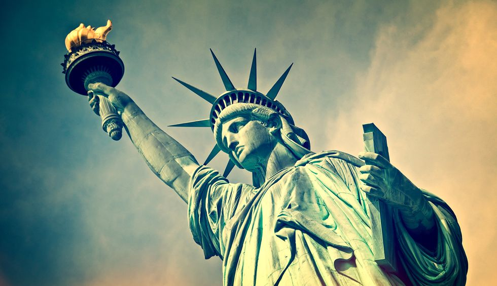 Is the Statue of Liberty the world's largest drag queen?