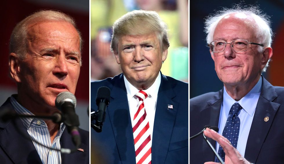 Sanders and Biden are on a collision course to save America from Trump